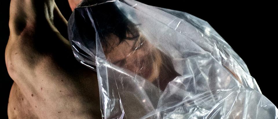 Bild från inspelningen av Skånes Dansteaters dansfilm Intimacy Revisited. Foto: Nelson Rodriguez-Smith.